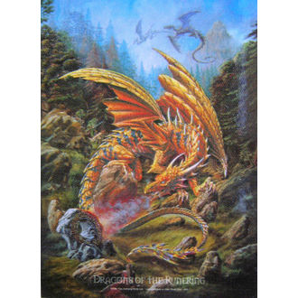 Fahne Dragons of the Runering HFL 424, HEART ROCK