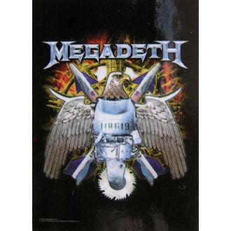 Fahne Megadeth - Eagle, HEART ROCK, Megadeth