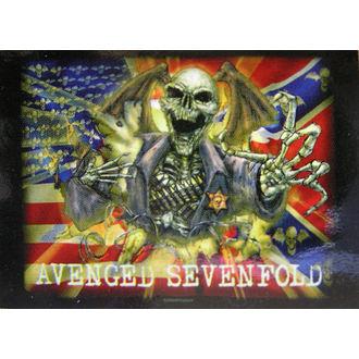 Fahne Avenged Sevenfold - Confederate, HEART ROCK, Avenged Sevenfold