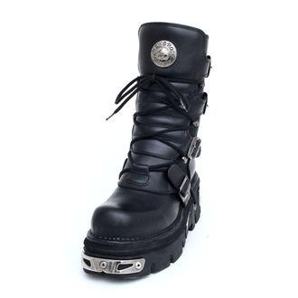 Punk Boots NEW ROCK- Basic Stiefel (373-S4) schwarz, NEW ROCK