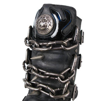 Schuhe NEW ROCK  - Chain Boots (727-S1) Black, NEW ROCK