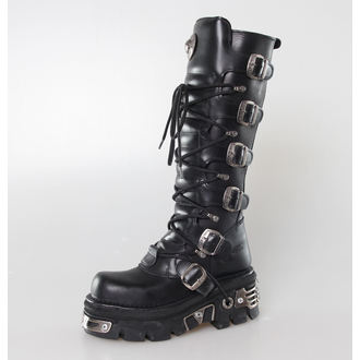 Schuhe NEW ROCK  - 6-Buckle Boots (272-S1) Black, NEW ROCK