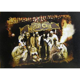 Fahne Mötley Crüe - Festival Circus, HEART ROCK, Mötley Crüe