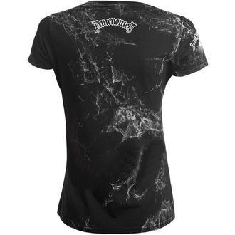 Damen T-Shirt Hardcore - KEEP CALM AND BURN CHURCHES - AMENOMEN, AMENOMEN