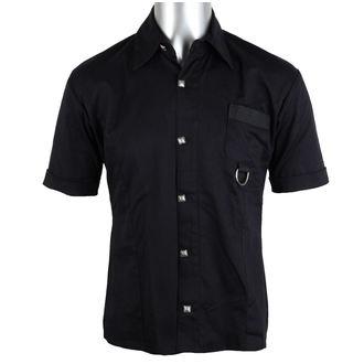 Herren Hemd Aderlass - Ring Shirt Denim Black, ADERLASS