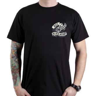 Herren T-Shirt Street - LOLA - BLACK HEART, BLACK HEART