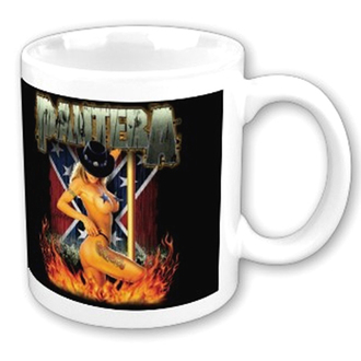Keramiktasse  (Pott) Pantera - Dancer - ROCK OFF