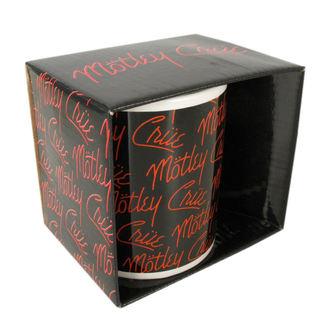 Keramiktasse  (Pott) Mötley Crüe - Logos, ROCK OFF, Mötley Crüe