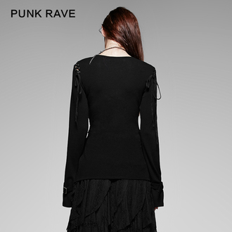 Damen Longsleeve PUNK RAVE - Perfect Disorder, PUNK RAVE