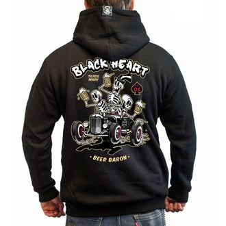 Herren Hoodie - BEER BARON - BLACK HEART, BLACK HEART