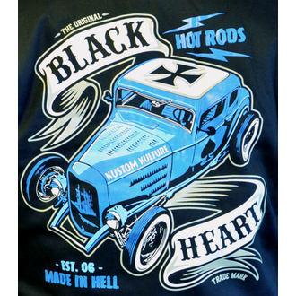 Herren Hoodie - BRUISER - BLACK HEART, BLACK HEART