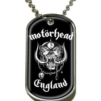 Dog Tag  Motörhead 'England', RAZAMATAZ, Motörhead