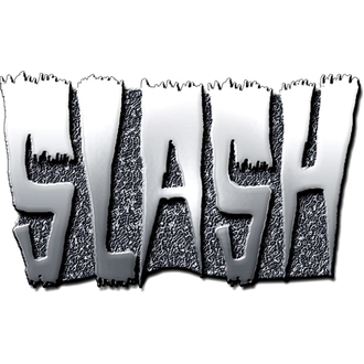 Button Slash (Logo) - ROCK OFF, ROCK OFF, Slash