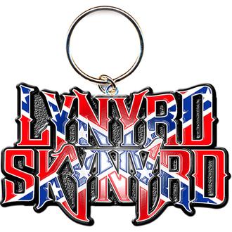 Schlüsselanhänger - Anhänger  Lynyrd Skynyrd (Flag Logo) - ROCK OFF, ROCK OFF, Lynyrd Skynyrd