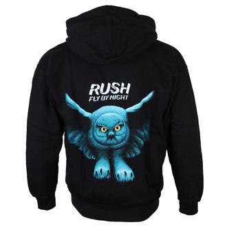 Herren Hoodie  RUSH 'FLY BY NIGHT', PLASTIC HEAD, Rush