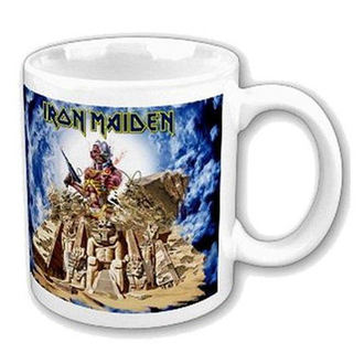 Keramiktasse  (Pott) Iron Maiden 'Somewhere Back In Time' ACWPOS 6138 - IMMUG08, ROCK OFF, Iron Maiden