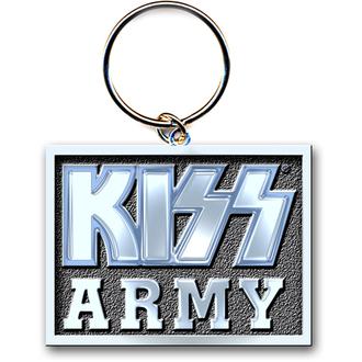 Schlüsselanhänger (Anhänger ) KISS 'Army Block' ROCK OFF, ROCK OFF, Kiss