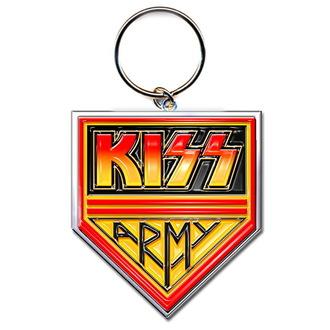Schlüsselanhänger (Anhänger ) KISS 'Army', ROCK OFF, Kiss