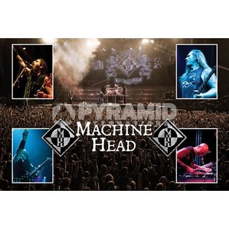 Poster Machine Head (Live) - PYRAMID POSTERS, PYRAMID POSTERS, Machine Head