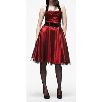 Damen Kleid  HELL BUNNY 'Songstree Dress (RED/BLACK), HELL BUNNY