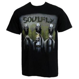 Herren T-Shirt RAZAMATAZ Soulfly 'Envy/Wrath/Sloth EUROPE 2010', RAZAMATAZ, Soulfly