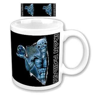 Keramiktasse  (Pott) Iron Maiden - Different World Boxed Mug - ROCK OFF, ROCK OFF, Iron Maiden
