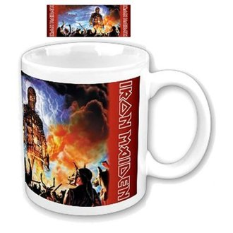 Keramiktasse  (Pott) Iron Maiden - Wicker Man Boxed Mug - ROCK OFF, ROCK OFF, Iron Maiden
