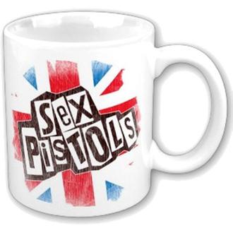 Keramiktasse  (Pott) Sex Pistols - Logo Flag Fridge Boxed Mug - ROCK OFF, ROCK OFF, Sex Pistols