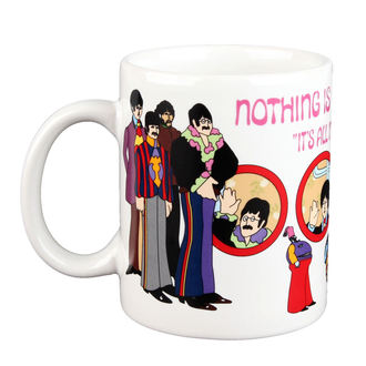 Keramiktasse  (Pott) Beatles - Yellow Sub Nothing is Real Boxed Mug - ROCK OFF
