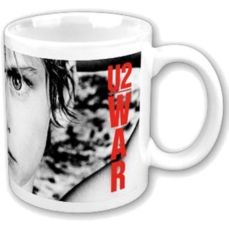 Keramiktasse  (Pott) U2 - War Boxed Mug - ROCK OFF, ROCK OFF, U2