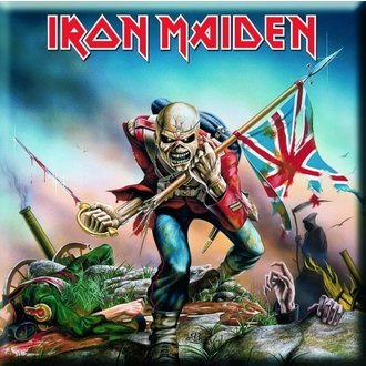 Magnet Iron Maiden - The Trooper Fridge Magnet - ROCK OFF, ROCK OFF, Iron Maiden