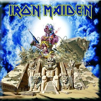 Magnet Iron Maiden - Somewhere Back In Time Fridge Magnet - ROCK OFF, ROCK OFF, Iron Maiden