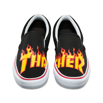 Herren Low Sneaker - SLIP ON PRO (THRASHER) B - VANS, VANS