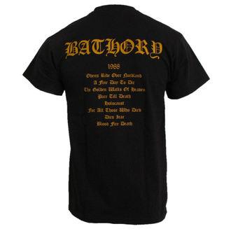 Herren T-Shirt Bathory - Blood Fire Death, PLASTIC HEAD, Bathory