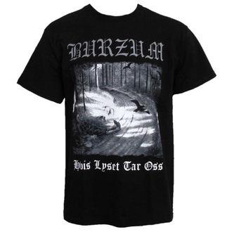 Herren T-Shirt Burzum - Hvis Lyset Tak Oss - PLASTIC HEAD, PLASTIC HEAD, Burzum