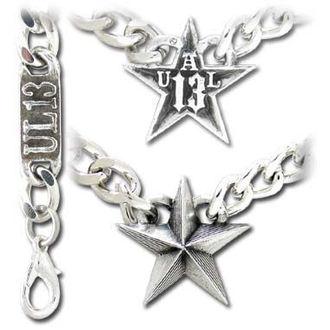 Halskette Nautical Star Cuban Pendant - ALCHEMY GOTHIC, ALCHEMY GOTHIC
