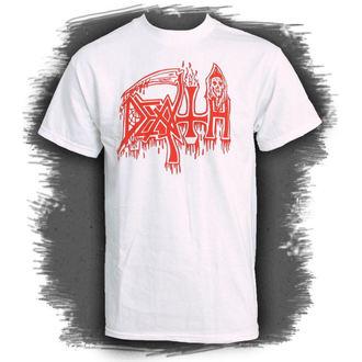 Herren T-Shirt   DEATH-CLASSIC LOGO WEISS - RELAPSE, RELAPSE, Death