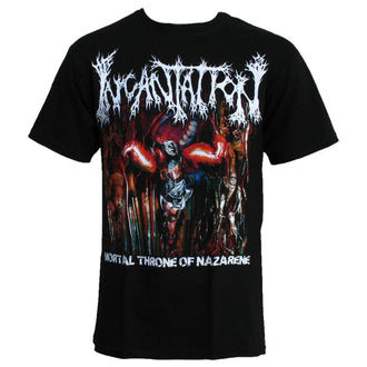 Herren T-Shirt  Incantation-MORTAL THRONE, RELAPSE, Incantation