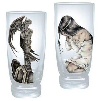 Glas (Set 2x St.) VICTORIA FRANCES - Ilantos Statue, VICTORIA FRANCES, Victoria Francés