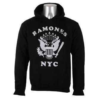 Herren Hoodie Ramones - Retro Eagle NYC - ROCK OFF, ROCK OFF, Ramones
