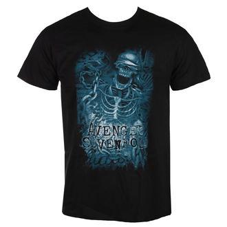 Herren T-Shirt  Avenged Sevenfold - Chainedskeleton - BRAVADO EU, ROCK OFF, Avenged Sevenfold