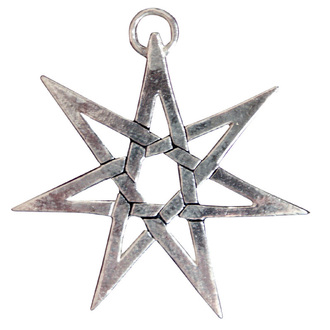 Anhänger  Heptagram - EASTGATE RESOURCE, EASTGATE RESOURCE
