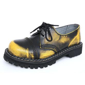 Lederstiefel/Boots KMM 3-Loch - Yellow/Black