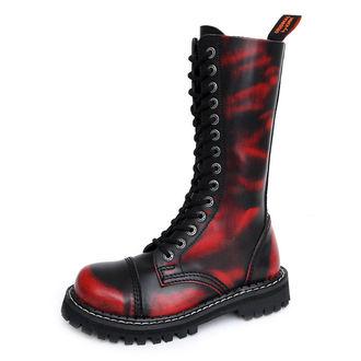 Stiefel KMM 14-Loch - Red/Black - 140/2