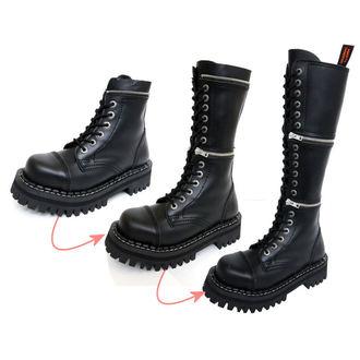 Lederstiefel/Boots KMM  18-Loch - Black