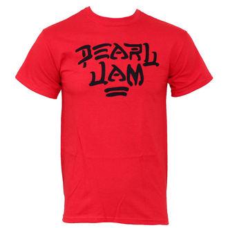 Herren T-Shirt  Pearl Jam - Logo Red - PEPJA0030, LIVE NATION, Pearl Jam