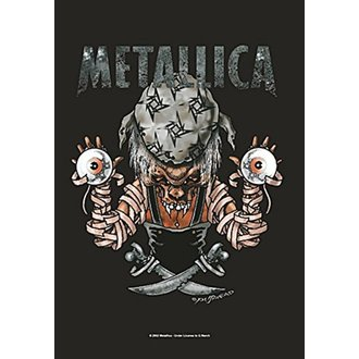Flagge Metallica - Pirate, HEART ROCK, Metallica
