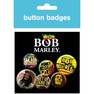 Button Bob Marley - One Love - BP0313