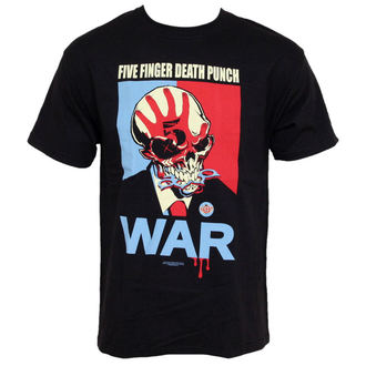 Herren T-Shirt Five Finger Death Punch - War - BRAVADO USA, BRAVADO, Five Finger Death Punch