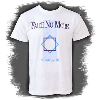 Herren T-Shirt Faith No More - We Care A Lot - PLASTIC HEAD, PLASTIC HEAD, Faith no More